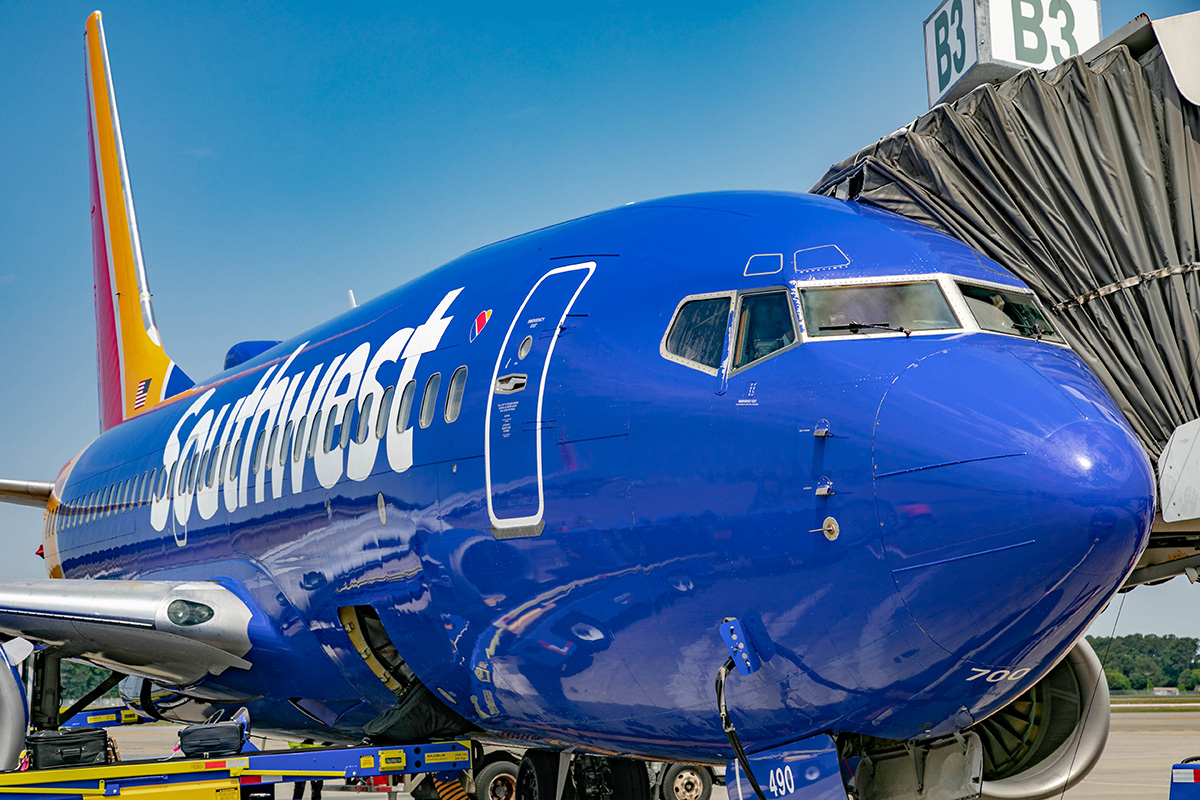Southwest Airlines Inaugural Flight to Myrtle Beach, SC