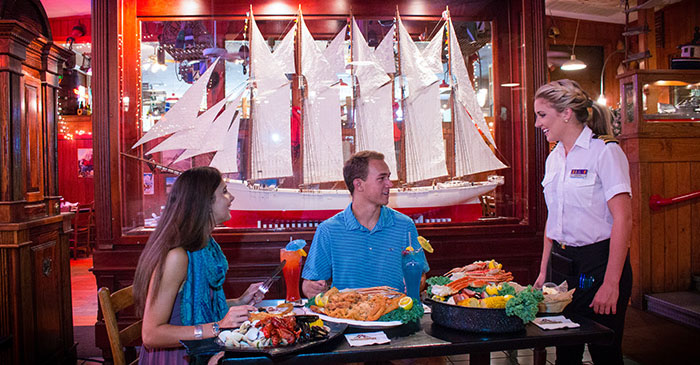 Southern Hospitality at Restaurants in Myrtle Beach